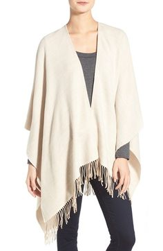 Echo Cross Dye Poncho available at #Nordstrom