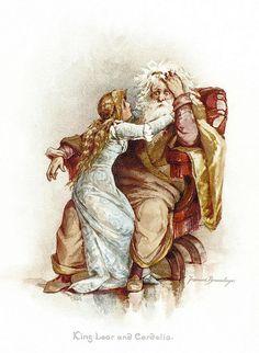 "Frances Brundage - ""King Lear and Cordelia"" by sofi01, via Flickr"
