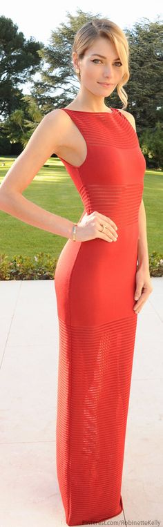 Red Gown #FashionInspiration