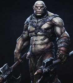 Barbarian Picture (3d, fantasy, character, barbarian)