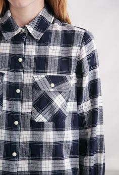 Tartan Plaid Shirt   Forever 21 - 2000133119