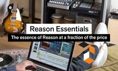 The essence of Reason at a fraction of the price Reason Essentials packs all the recording, editing, effects, instruments, mixing and mastering tools you need to sound great in a streamlined package, with room to grow and expand. Great selection of instruments and effects: drum machine, loop player, sampler, synths, reverb, delay, distortion and more. For guitar players, the guitar and bass amp devices from Softube bring a wide range of top quality guitar amps & cabinets. The intuitive au...