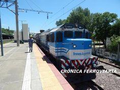 CRÓNICA FERROVIARIA: Viajando en el tren de pasajeros Temperley - Aleja...