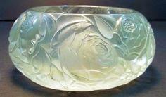 """R. Lalique """"Peonies"""" Bowl"""