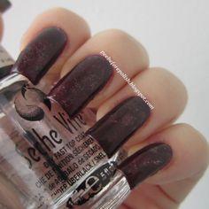GARNET [Twisting gradient nail art]