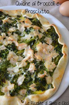 Quiche ai Broccoli e Prosciutto