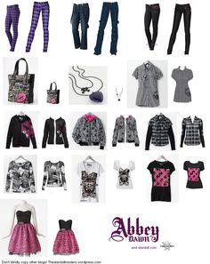 Another image of Avril`s line, even though this is an old collection