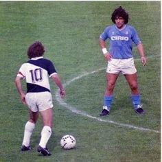 Um tributo ao futebol. A camisa 10. Arthur x Diego. Zico x Maradona. Zico + Maradona.