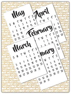 Calendar   Calendar Yearly Calendar  Printable