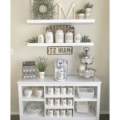 If you are a coffee lover, the best DIY coffee bar ideas for kitchen counter are here to inspire you coffee altar, your coffee worshiping game changes now! bar ideas kitchen counter 21 Charming DIY Coffee Station Ideas for All Coffee Lovers Coffee Bars In Kitchen, Coffee Bar Home, Home Coffee Stations, Coffee Bar Ideas, Coffee Counter, Diy Coffe Bar, Coffee Kitchen Decor, Coffe Decor, Wine And Coffee Bar