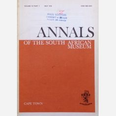 Annals of the South African Museum