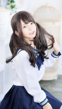 What are the most stunning photos of Japanese fashion model Misaki Ito? School Girl Japan, School Girl Outfit, Japan Girl, Moda Ulzzang, Ulzzang Girl, Beautiful Japanese Girl, Beautiful Asian Girls, Cute Asian Girls, Cute Girls
