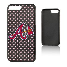 Atlanta Braves iPhone 7 Plus/8 Plus Baseball Bump Case