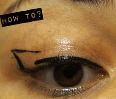 7♥ Hooded Eyes Makeup Tips: The Arrow Eyeliner