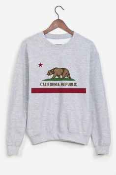 California Republic Cute School Uniforms, California Outfits, Shirt Jacket, T Shirt, Cool Outfits, Fashion Outfits, California Republic, Mode Vintage, Fall Winter Outfits