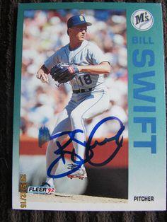 1992 Fleer #294 Bill Swift (TTM) 1/5/2015-1/30/2015--25 Days