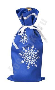 Чехол для шампанского «Снежинки» арт 2184