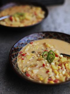 Vegetarian Corn Chowder Recipe . Kitchen Explorers . PBS Parents   PBS