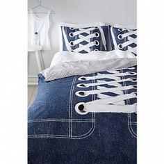 Covers - Sneakers blue Maat 140x200 (1-persoons) Prijs: euro 39,95