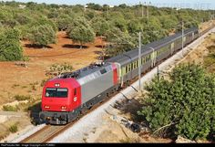 RailPictures.Net Photo: CP 5609 Caminhos de Ferro Portugueses Siemens CP 5600 series at Albufeira, Ferreiras, Portugal by J.C.POMBO
