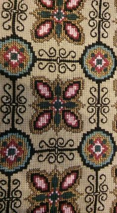 Embroidery Patterns Free, Beaded Embroidery, Cross Stitch Embroidery, Hand Embroidery, Embroidery Designs, Sewing Patterns, Needlepoint Designs, Needlepoint Stitches, Needlework