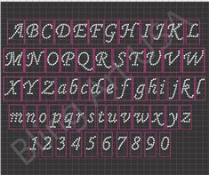 Rhinestone 1 Inch Corsiva Font Design Sticky Flock Template Easy Stencil Pink Color Flock Pattern Bling Art Transfer File EPS PLT SVG PDF