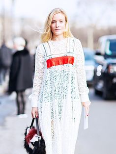 White pieces you can wear in any season! via @WhoWhatWear