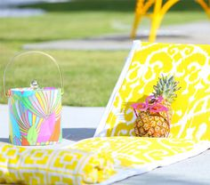 This Is the Most Epic Beach Chair You'll Ever Own via Brit + Co.