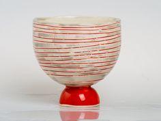 Carusa Porcelain bowl unique handmade OOAK