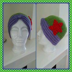 Crochet hat - Ariel inspired hat