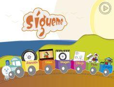 Sígueme. App para potenciar la atención visual y la adquisición del significado en niños con TEA.
