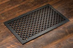 Cast Aluminum: Clover – Vent Covers – Wall/Ceiling/Floor - Pacific Register Company Floor Vent Covers, Wood Floor Finishes, Ac Vent, Victorian Pattern, American Craftsman, Black Holes, It Cast, How To Apply, It Is Finished
