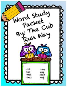 Complete word study packet!! Includes 43 already made word study/spelling lists plus a blank copy for your own use! Also includes parent letters and activities in BOTH English and Spanish!! This is a great resource for the seasoned teacher, a teacher new to a grade level or a first year teacher!
