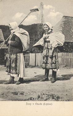 Pavol Socháň - Ženy v Liptovskej Osade