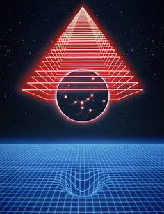 80s Grid Art, artist unknown