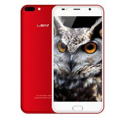 Leagoo M7 - $67.99 3G Phablet RED Android 7.0 Front Touch Sensor Dual Rear Cameras #Smartphone, #смартфон, #Phablet, #Leagoo, #gearbest