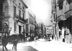 calle jara carrillo Liberal de Murcia antes palacio de inquisicion y carcel