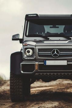 Mercedes-Benz G63 AMG 6x6 I'm wet