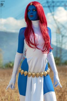 Featured on Best Cosplay Ever (This Week) – 07.01.13: Mystique, cosplayed by Rei-Doll, photographed by Kifir