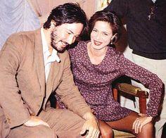 Keanu Reeves and Aitana Sánchez-Gijón