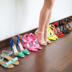 too much is never enough when it comes to shoes.....