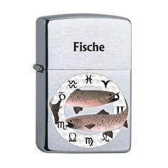 Zippo mit Sternzeichen Fische Lighter, Collection, Pisces Zodiac, Stars