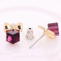 #Cubic #Zircon (CZ) #Stud #Earrings http://www.beads.us/product/Cubic-Zircon-%28CZ%29-Stud-Earring_p306744.html?Utm_rid=219754