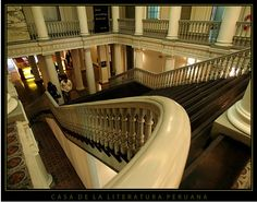 Home of Peruvian Literature, Peru  http://mentalfloss.com/article/51788/62-worlds-most-beautiful-libraries