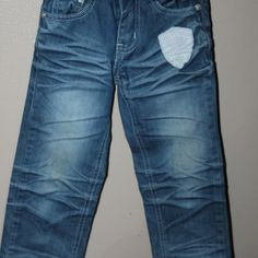 Distressed jeans, Size 4