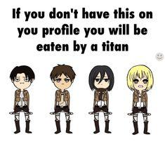 Just look at Mikasa's face!