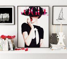 Art Digital couverture de VOGUE Vogue Poster tirage par TypoHouse