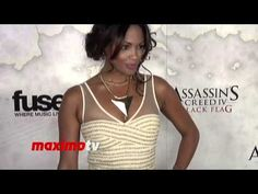 K.D. Aubert Assassin's Creed IV Black Flag Launch Party Hosted by Elijah...