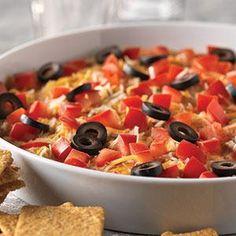 Chicken Fiesta Dip Recipe from Taste of Home