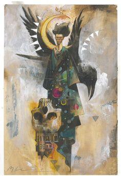 The Sandman - Morpheus Commission Comic Art